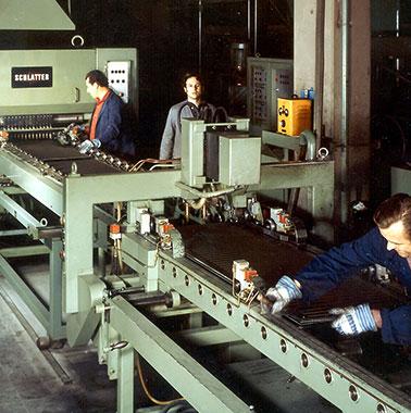 Historische Aufnahme aus der Kermi-Produktion (1977)