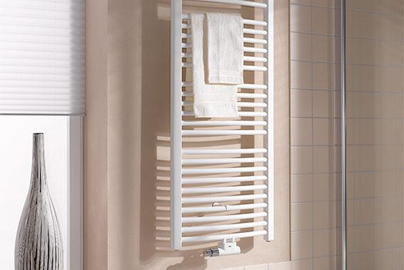 Kermi Basic-50 R Design- und Badheizkörper mit weichem Schwung