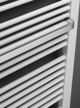 Handtuchbügel geschlossen verchromt für Kermi Credo-Duo Design- und Badheizkörper