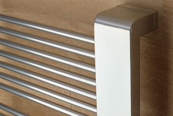 Detailansicht oben Kermi Credo-Half Design- und Badheizkörper