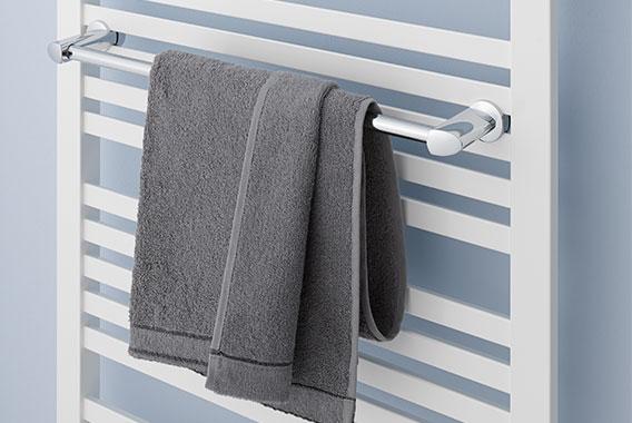 Handtuchbügel für Kermi Geneo quadris Design- und Badheizkörper